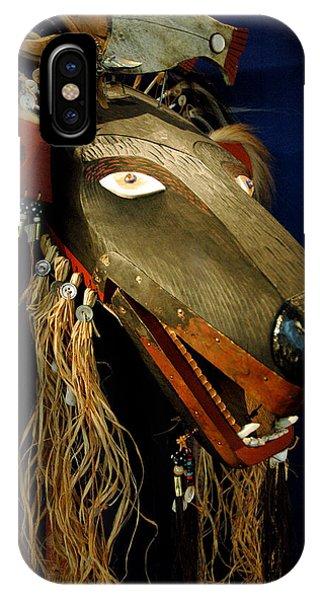Indian Animal Mask IPhone Case
