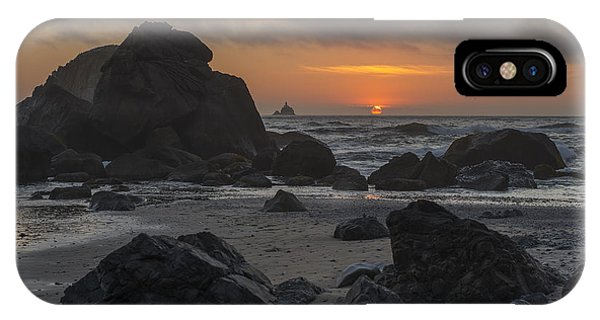 Indian Beach Sunset IPhone Case