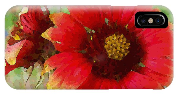 Indian Blanket Flowers IPhone Case