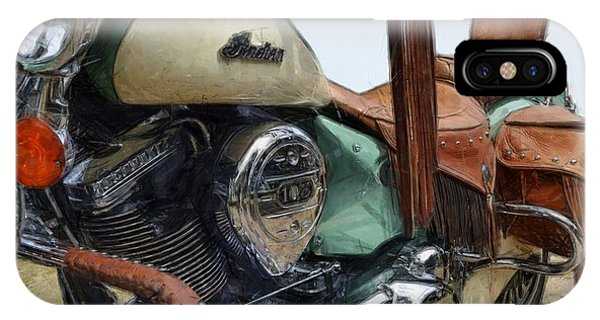 Indian Chief Vintage L IPhone Case