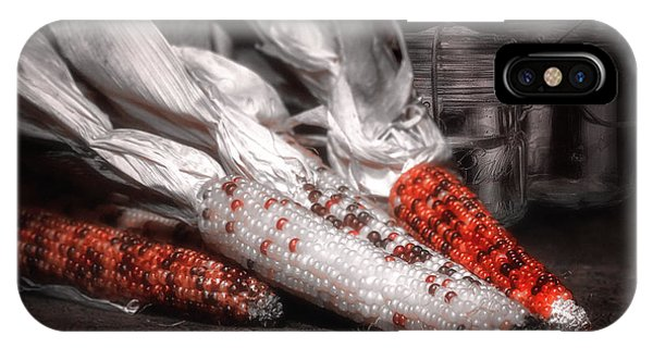 Indian Corn Still Life IPhone Case