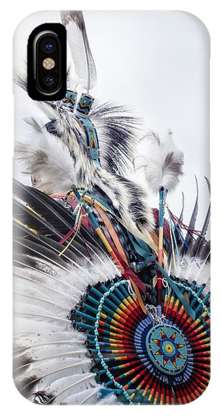 Indian Feathers IPhone Case