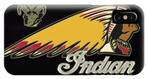 Indian Motorcycle Logo Series 2 IPhone Case