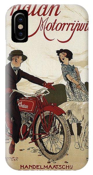 Indian Motorrywielen  C. 1915 IPhone Case