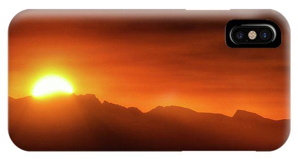 Indian Peaks Wilderness iPhone Case - Indian Peaks Sunset by Christopher Thomas