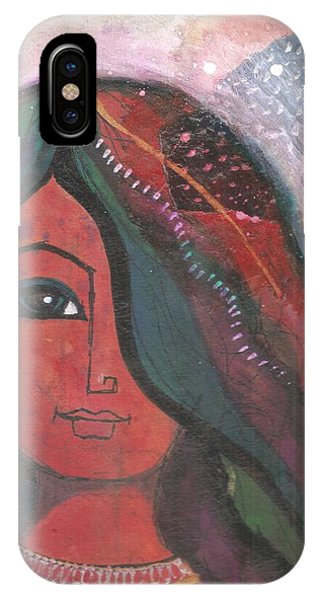 Indian Rajasthani Woman IPhone Case