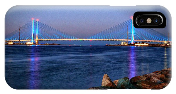 Indian River Inlet Bridge Twilight IPhone Case
