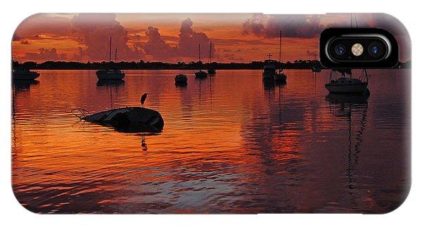 Indian River Sunrise IPhone Case