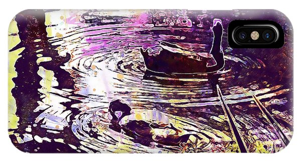 Indian Runner Ducks  IPhone Case