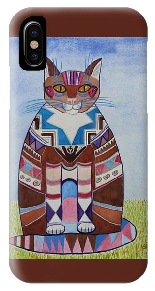 Indian Squirrel Cat IPhone Case