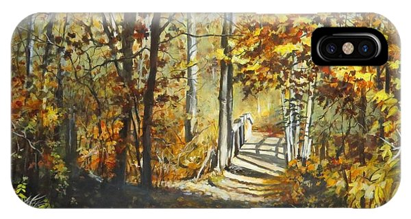 Indian Summer Trail IPhone Case
