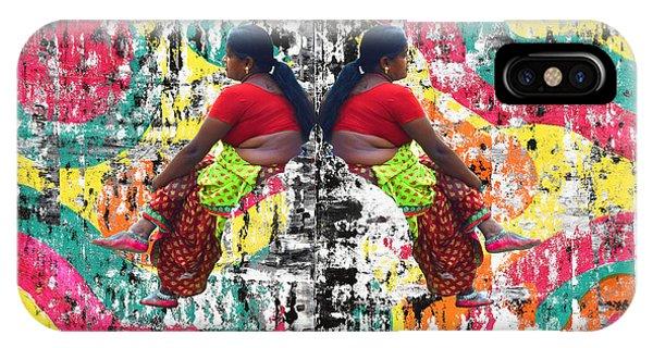 Indian Woman Portrait IPhone Case