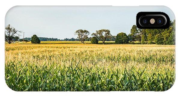 Indiana Corn Field IPhone Case