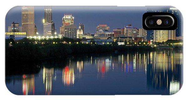 Indianapolis Night IPhone Case