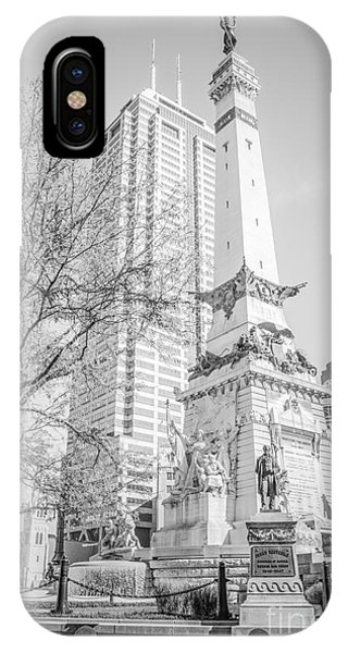 Indianapolis Soldiers And Sailors Monument  IPhone Case