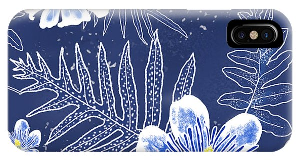 Indigo Batik - Laua'e 12 IPhone Case