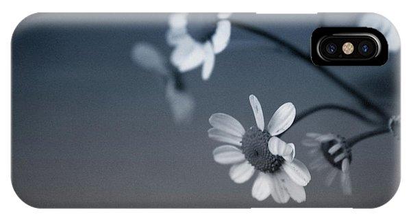 Floral iPhone Case - Indigo Daisies 2- Art By Linda Woods by Linda Woods