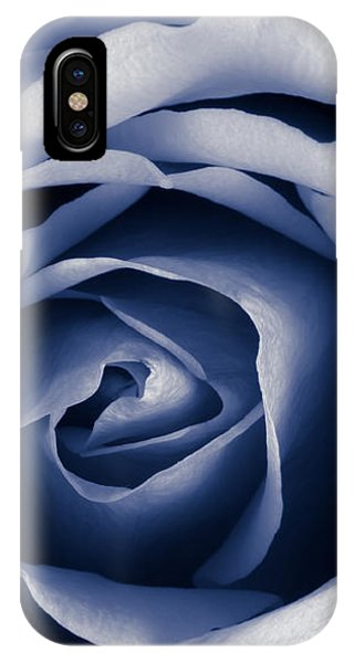 Indigo Rose IPhone Case