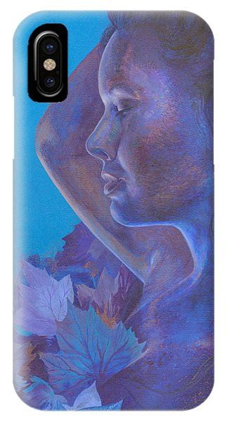Indigo Serene IPhone Case