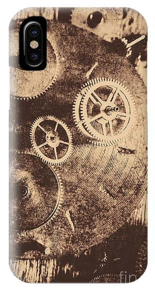 Factory iPhone Case - Industrial Gears by Jorgo Photography - Wall Art Gallery