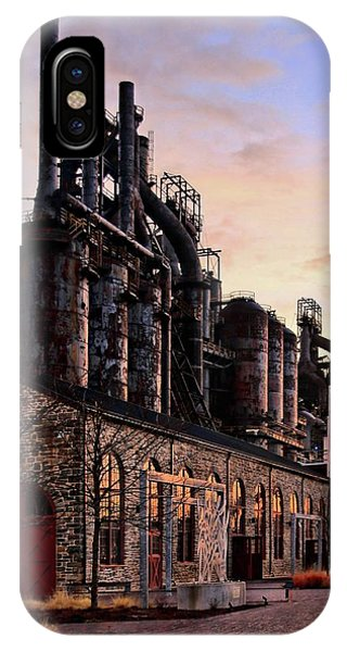 Industrial Landmark IPhone Case