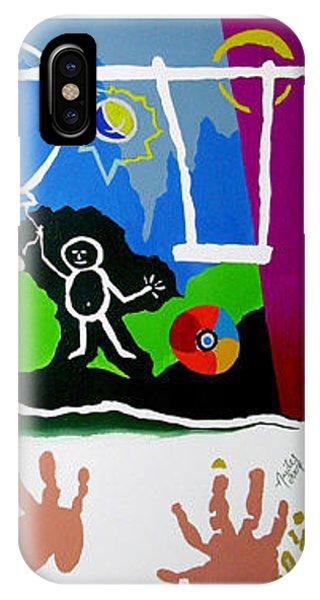 iPhone Case - Infancy by Arides Pichardo
