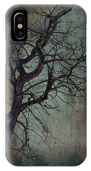 Infared Tree Art Twisted Branches IPhone Case