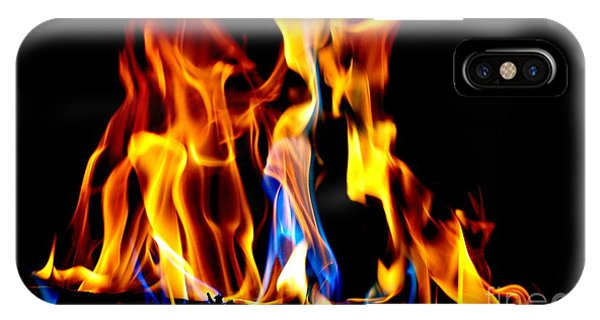 Inferno Abstract II IPhone Case
