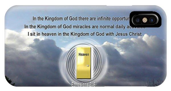 Infinite Opportunities IPhone Case