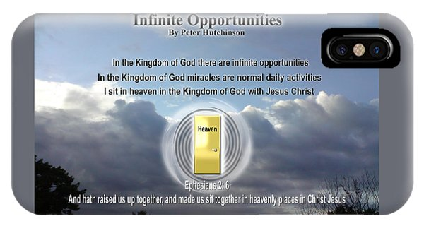 Infinite Opportunities IPhone Case
