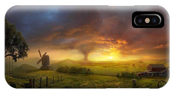 Wizard iPhone X Case - Infinite Oz by Philip Straub