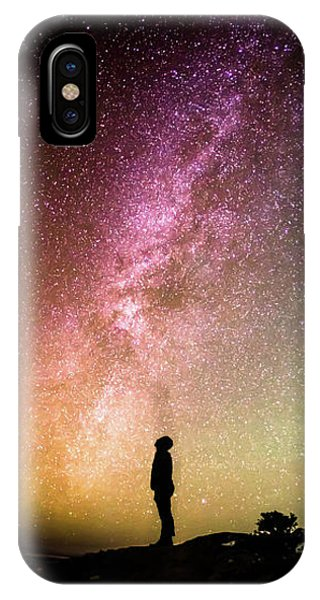 Night iPhone Case - Infinite Possibilities by Happy Home Artistry