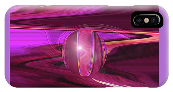 Infinity And Beyond - Abstract Iris Photography IPhone Case