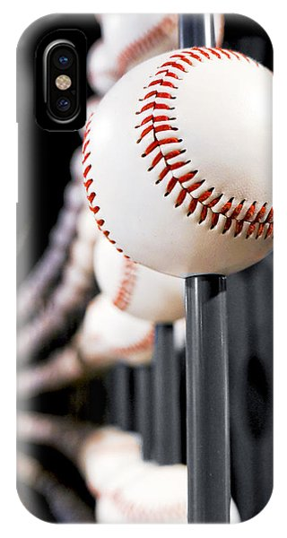 Baseball Hall Of Fame iPhone Case - Infinity Ball by Greg Fortier