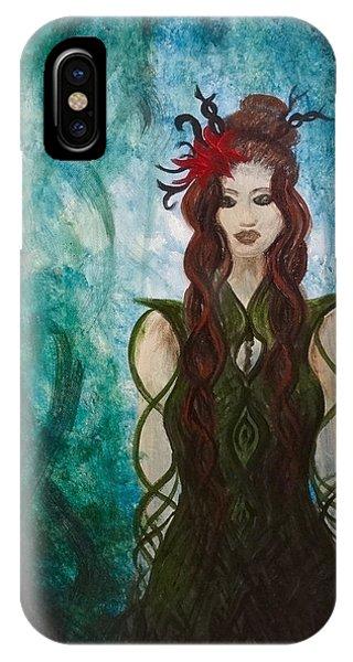 Infinity Goddess IPhone Case