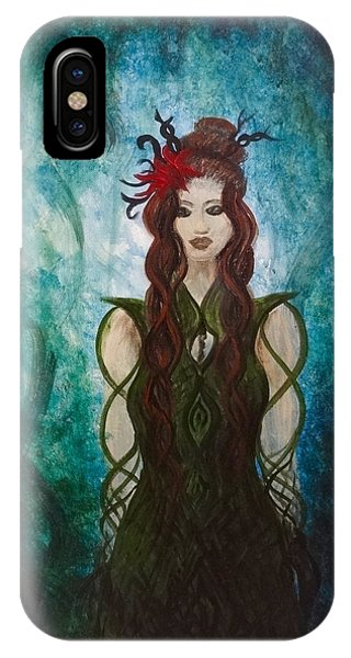 Infinity Goddess IPhone Case