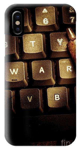Virus iPhone Case - Information War by Jorgo Photography - Wall Art Gallery