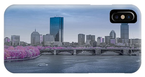 Infrared Boston IPhone Case