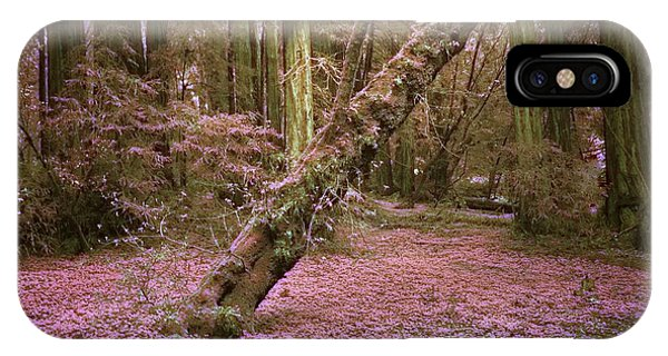 Infrared Forest Floor IPhone Case