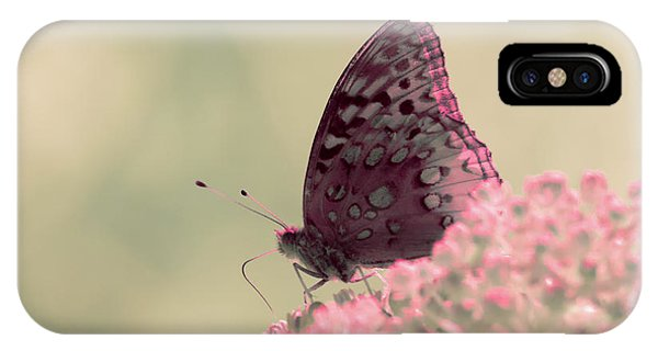 IPhone Case featuring the photograph Infrared Fritillary 2 by Brian Hale