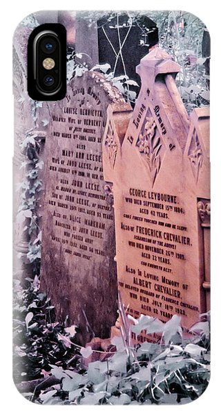 Music Hall Stars At Abney Park Cemetery IPhone Case