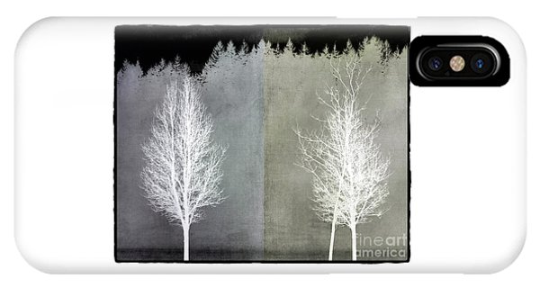 Infrared Trees With Texture IPhone Case