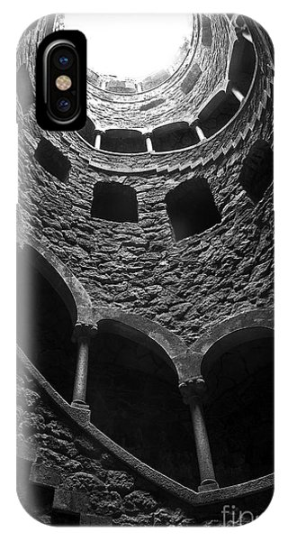 Stone Wall iPhone Case - Initiation Well by Carlos Caetano