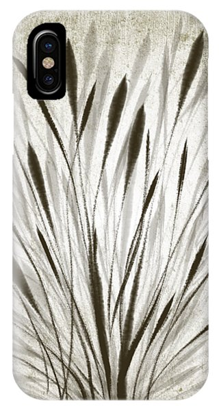 IPhone Case featuring the drawing Ink Grass by Ivana Westin