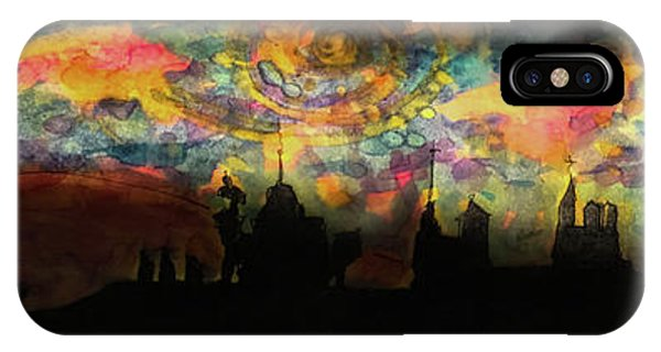 Inky Inky Night II IPhone Case