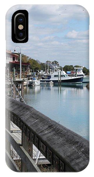 Inlet Fishing Fleet IPhone Case