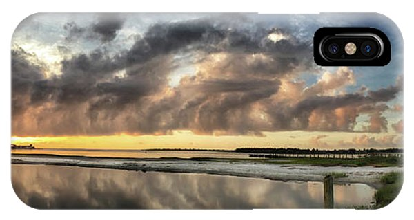 Inlet Sunrise Panorama IPhone Case