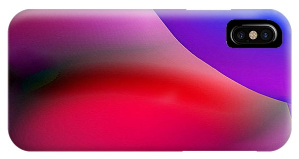 IPhone Case featuring the painting Inner Cosmos 2 Red II Diptych Left  Contemporary Digital Art by G Linsenmayer