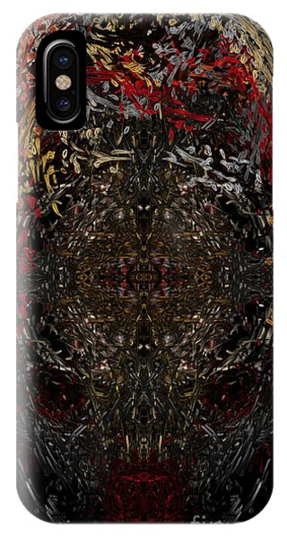 IPhone Case featuring the digital art  Insecticidal  by Reed Novotny