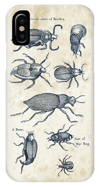 Insect iPhone Case - Insects - 1792 - 02 by Aged Pixel